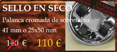 Oferta sello en seco