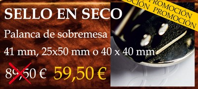Oferta sello en seco 41 mm